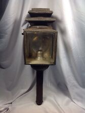 A.P. Devoursney NY Candle Carriage Driving Lantern