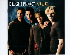 CD	CAUGHT IN THE ACT	vibe	GERMAN 1997 EX   (R2686)