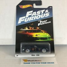 Honda S2000 * BLACK * Hot Wheels Fast & Furious * WE9