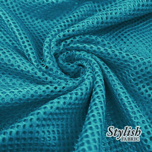 Polyester King Sports Mesh Fabric by the Yard - Style 2003