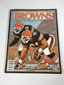 2002 Cleveland Browns Official Team Yearbook - NFL Football