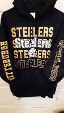 Pittsburgh Steelers-Repeat Logo-Hoodie/NICE!