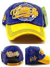 Golden State New Leader Vintage Skyline Bridge Warriors Blue Dad Era Hat Cap