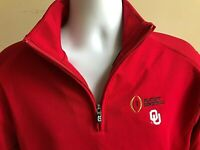 Oklahoma Sooners 2019 Peach Bowl Men's Cutter & Buck Crimson Dry Tec Jacket New
