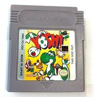 Yoshi Nintendo Original GameBoy Game - Tested & Working + Authentic!