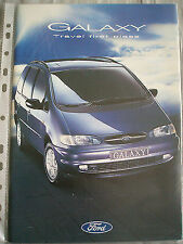 Ford Galaxy range brochure Oct 1995
