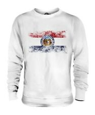 Missouri État Drapeau Délavé Unisexe Pull Missourian T-Shirt Jersey Cadeau