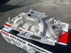 Edelbrock Intake Manifold 7176; Performer RPM Aluminum for 318/340/360 LA Mopar