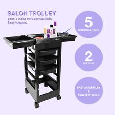 More details for fanola kellie professional salon hairdresser barber beauty storage trolley