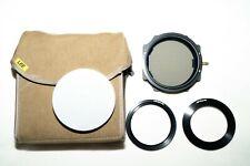 Lee Foundation Kit, 105mm Polarising Filter, Big & Little Stopper, Adaptor Rings