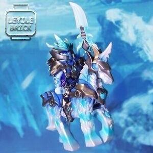 ⎡LEYILE BRICK⎦ Preorder Custom Three Kingdoms Frozen Guan Yu Genuine Figure