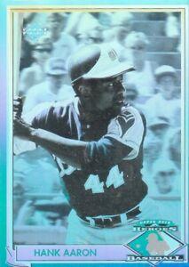1991 Upper Deck Heroes Of Baseball Hank Aaron #HH! Hologram