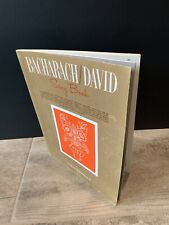 Bacharach David Song Book 1968 Cimino Blue Seas