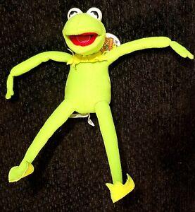 "Disney Theme Parks Muppet Vision 3D Kermit the frog 13"" Plush NWT"