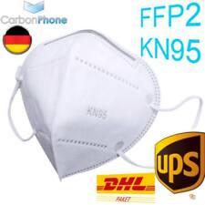 5x Masken N95 FFP2 Mund-Nasen-Schutz Mundbedeckung Atemschutzmaske Gesichtsmaske