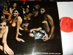 THE JIMI HENDRIX EXPERIENCE : ELECTRIC LADYLAND 2LP 1968 POLYDOR 2310269 UK