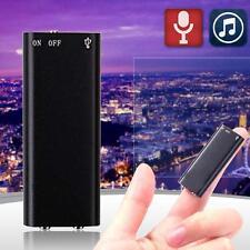 8GB Spy Bug Micro Digital Voice Sound Recorder + MP3 Player MUSIC Headphone ZR