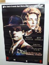 THE HOUSE ON CARROLL STREET Jeff Daniels KELLY MCGILLIS Home Video Poster 1983