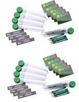 10 x Petling + Aufkleber + Logbuch + Stift -Set Behälter Geocaching Versteck ***