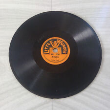 """LITTLE WONDER 78 RPM Record Number No. 1247 - RINGS (Tenor Duet) - Tiny 5"""""""