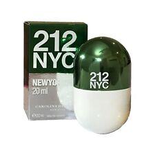 New Boxed Carolina Herrera 212 NYC New York Pills 20ml EDT Women