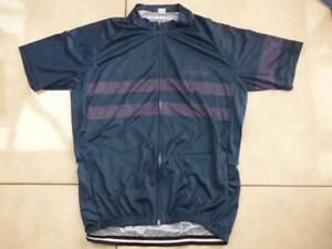 Mens full zip cycling cycle top shirt. Size Large. Please read description