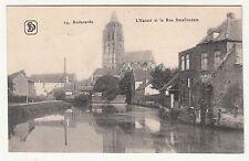 Feldpost Ak Audenarde L`Escaut et la Rue Smallendam Belgien 1915 IWW !