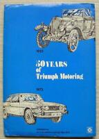 TRIUMPH JUBILEE 50 Years Car Press Media Pack Brochures Photos 1923-73