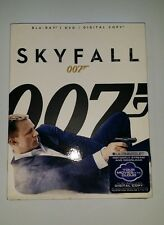New &sealed SKYFALL 007 james bond BLURAY+DVD+DIGITAL COPY+sleeve