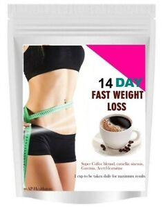 14 DAYS STRONG SLIMMING DIET COFFEE-TOX FAST WEIGHT LOSS FAT BURNER PLUS DRINK