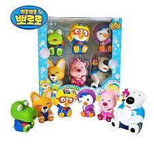 Pororo & Friends Bath Toy (6pcs) Pororo+Crong+Loopy+Eddy+Petti+Poby