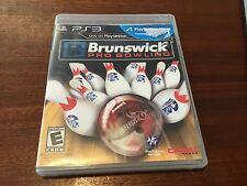 "BRUNSWICK PRO BOWLING GAME PlyStation 3 "" Very Good"""