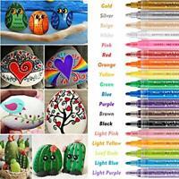 Acrylic Paint Marker Pens, RATEL 18 Colors Premium Waterproof Permanent Paint
