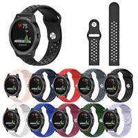 Silicone Breathable Watch Band Strap for Garmin Vivoactive 3 Vivomove HR Welcome