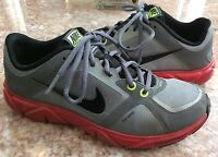 NIKE Free XT Quick Fit Women's Gray Red Running Shoes Size 7.5 - 415257-002 EUC!