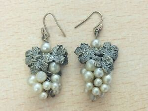 Vintage 1940/'s Champagne Glass Headed Wired Pearl Stems Bag of 144