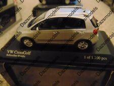 Minichamps VW Cross Golf 2006 Silver 1:43 400054370