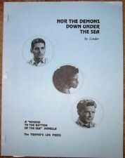 "Voyage To Bottom Sea Fanzine ""Nor Demons Under the Sea"" SLASH Novel"