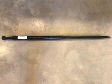 "49"" Hay Bale Spear 3500 lbs capacity 1 3/4"" wide w/ nut Conus 2 Heavy Duty"