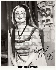 Yvonne De Carlo  The Munsters Autographed 8x10 Photo Signed REPRINT