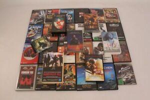 DVD´s VHS Kassetten Filme Spiele Musik Sammlung Lot Konvolut
