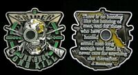 Scout Sniper CHALLENGE COIN US ARMY NAVY AIR FORCE PIN UP ONE SHOT ONE KILL WOW