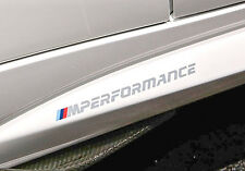 Genuine BMW M Performance Logo M2 F87 Decal Sticker Set OEM (set of 2)