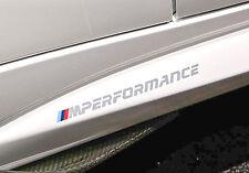 Genuine BMW M Performance Logo M2 F87 Decal Sticker Set OEM (set of 2)