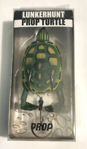 "LunkerHunt 3 1/2"" Prop Turtle 3/4 Oz Bass Fishing Lure Swamp TURTLE04"