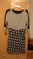 Rag & Bone Gayatri silk black white dress Med