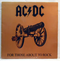 AC/DC - For those about to rock - 1981 vinyl LP Atlantic K50851 1st UK