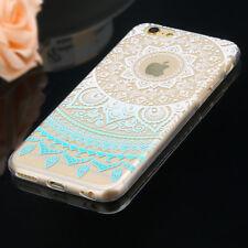 Ultra Thin Mandala Pattern Slim Soft TPU Case Cover For iPhone 8 7 6 Plus 5 SE