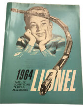 Lionel 1964 Consumer Catalog. Great Condition