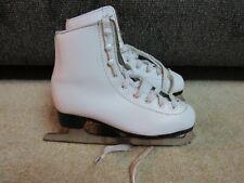 Girls Figure Ice Skates Dbx Brand Size 2 Dsg-A5Dgmnm7 white